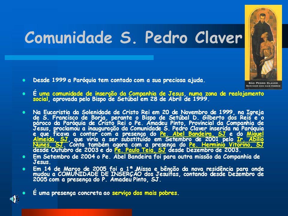 Comunidade S. Pedro Claver