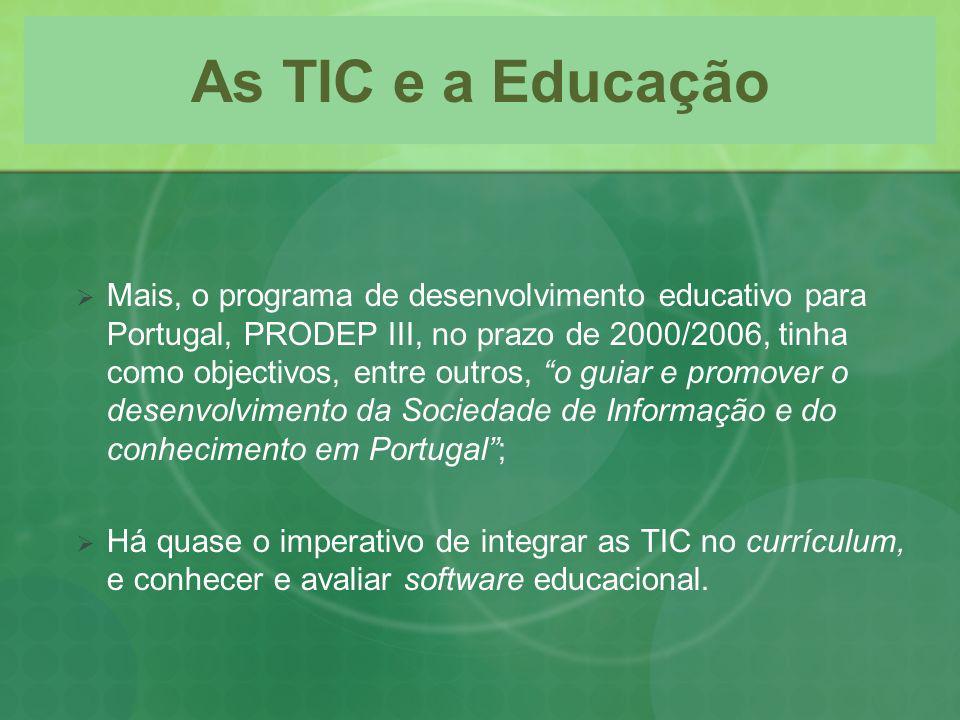 As TIC e a Educação