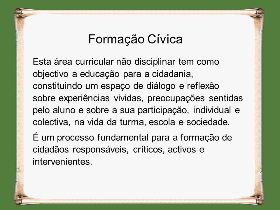 Formação Cívica