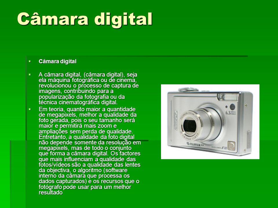 Câmara digitalCâmara digital.