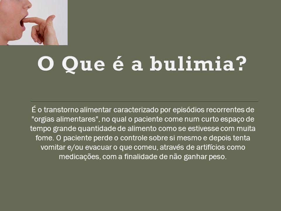 O Que é a bulimia