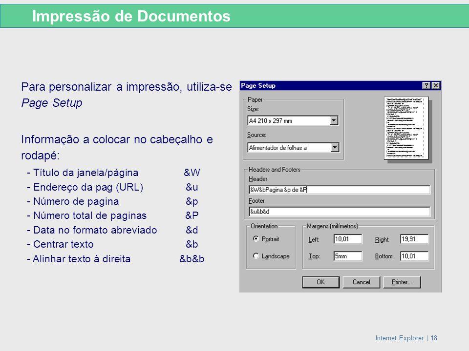 Impressão de Documentos