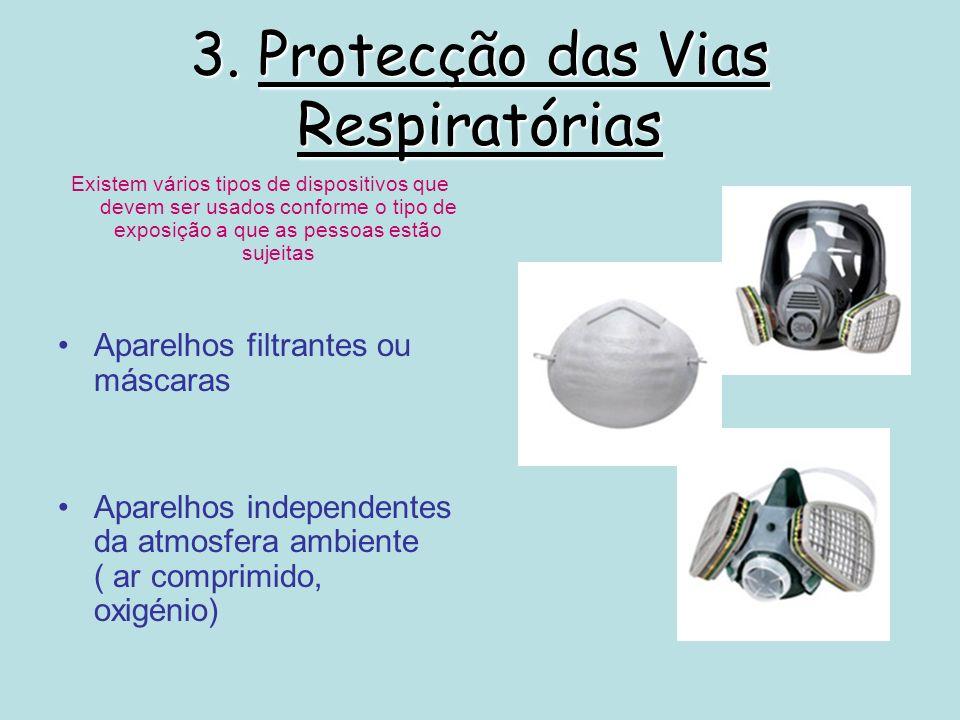 3. Protecção das Vias Respiratórias