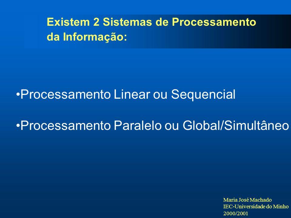 Processamento Linear ou Sequencial