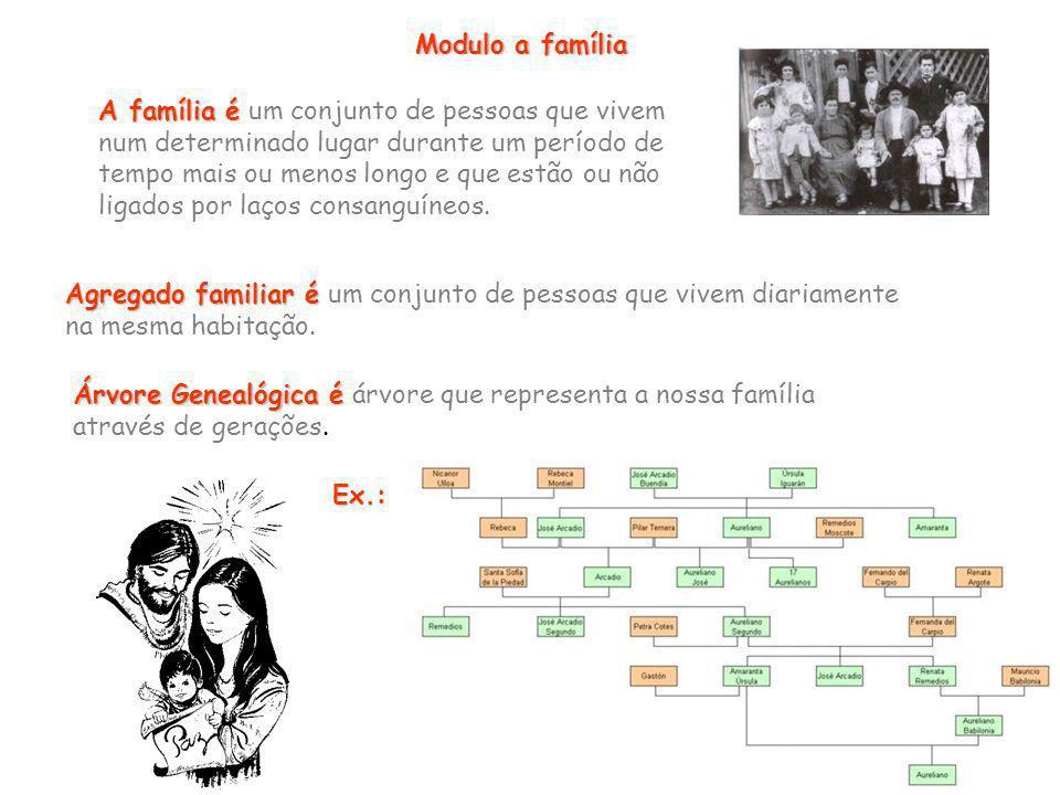 Modulo a família