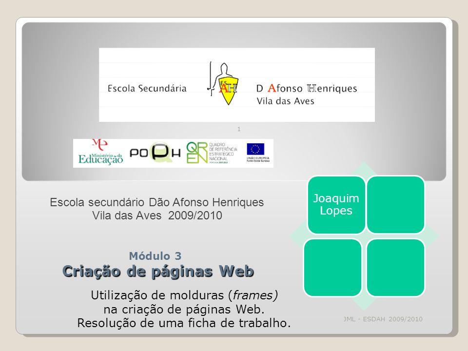 Módulo 3 Criação de páginas Web