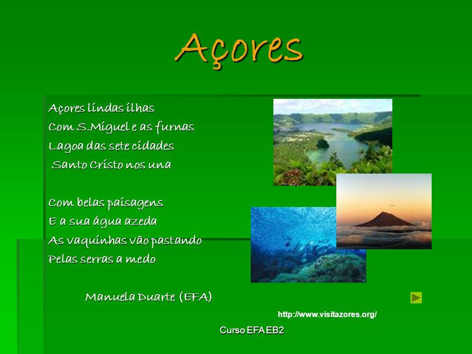 Açores Açores lindas ilhas Com S.Miguel e as furnas