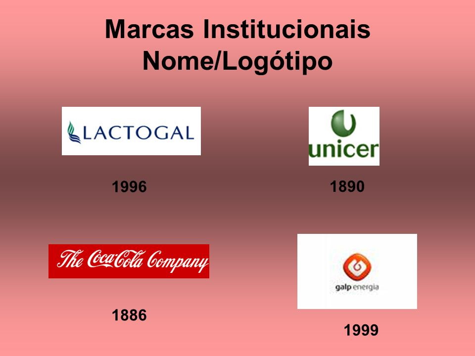 Marcas Institucionais Nome/Logótipo