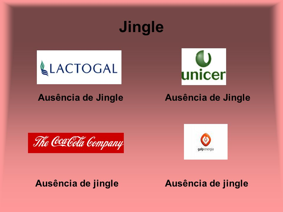 Jingle Ausência de Jingle Ausência de Jingle Ausência de jingle