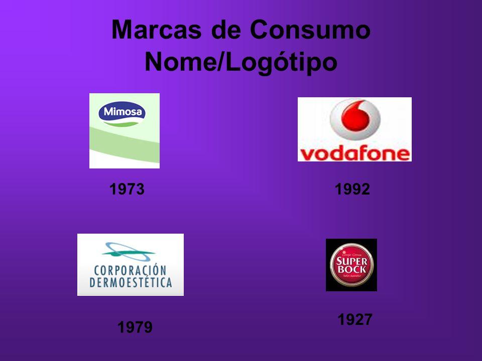 Marcas de Consumo Nome/Logótipo
