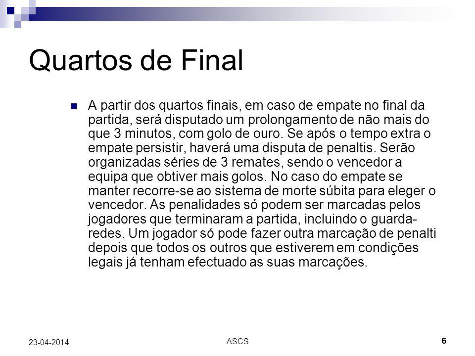 Quartos de Final