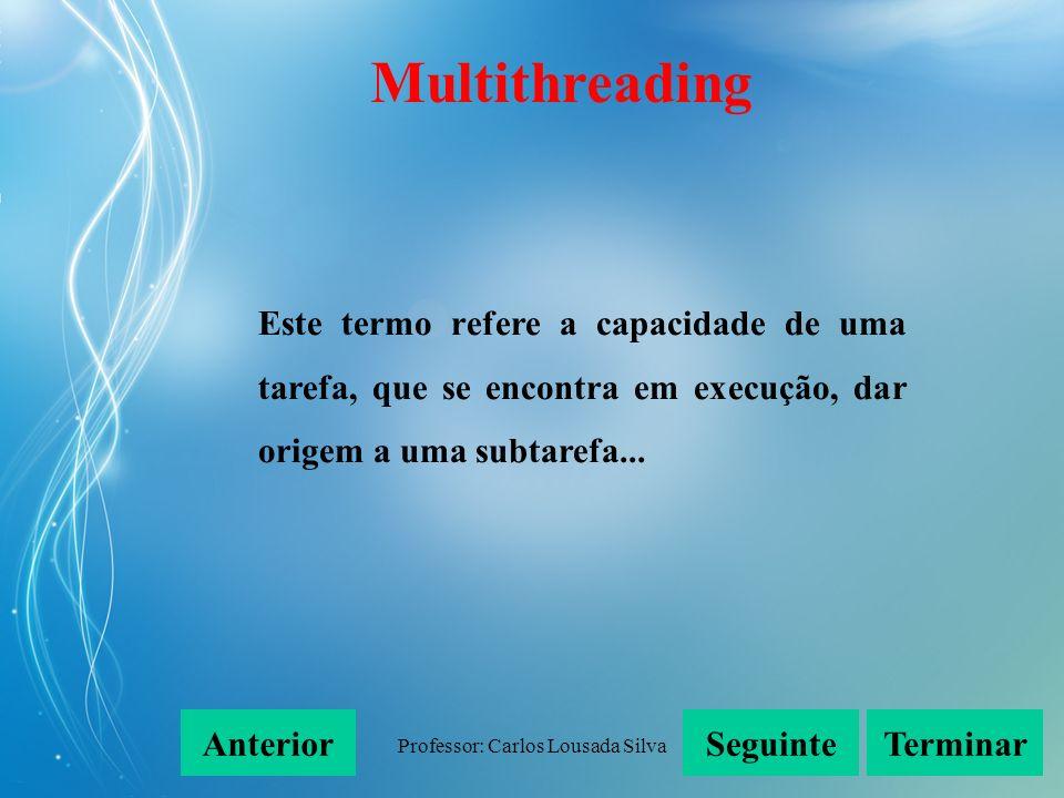 Professor: Carlos Lousada Silva