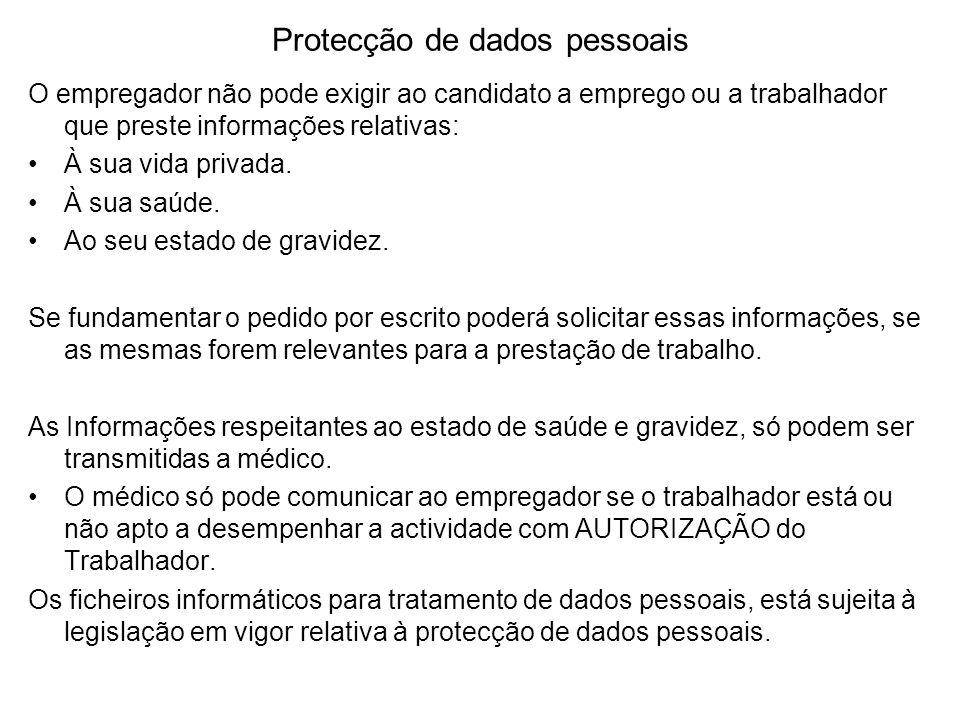 Protecção de dados pessoais