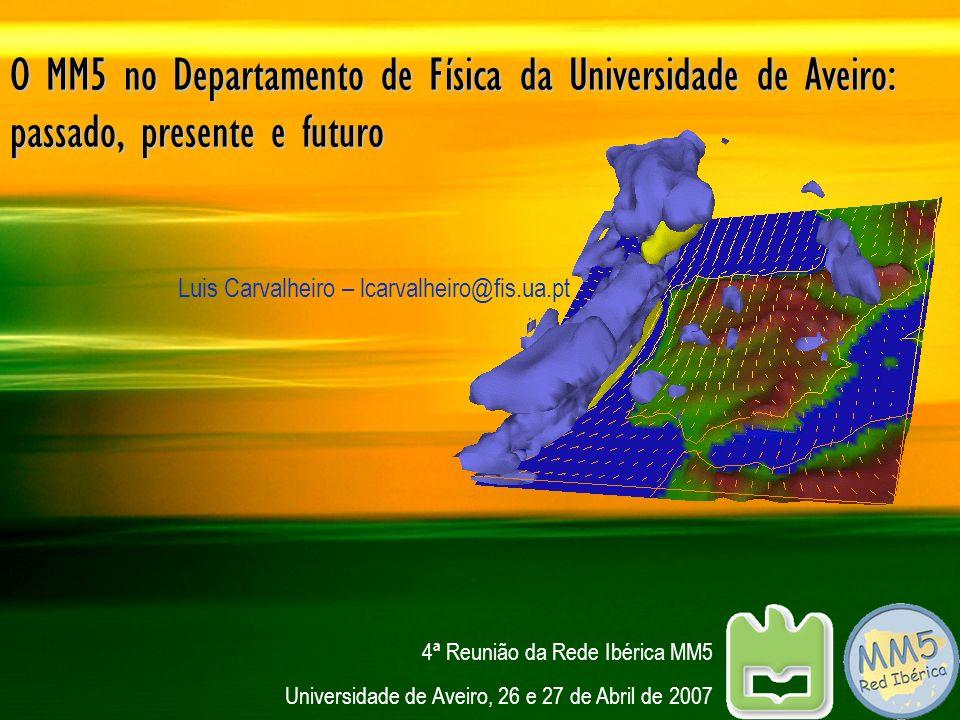 Luis Carvalheiro – lcarvalheiro@fis.ua.pt