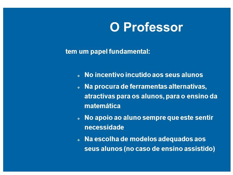 O Professor tem um papel fundamental: