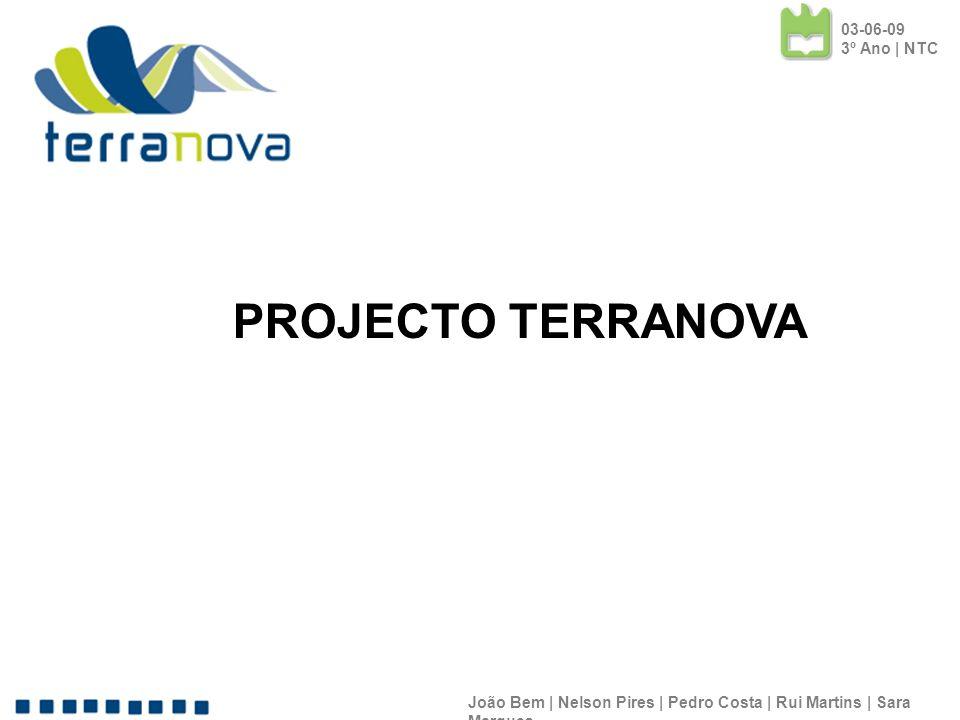 PROJECTO TERRANOVA 03-06-09 3º Ano | NTC