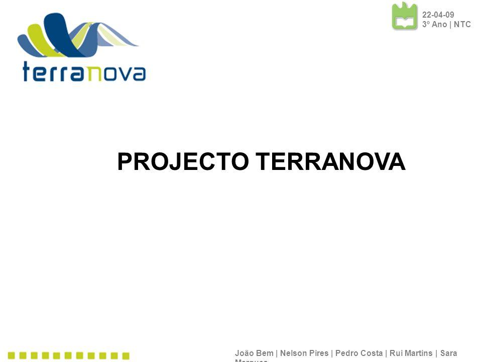 PROJECTO TERRANOVA 22-04-09 3º Ano | NTC