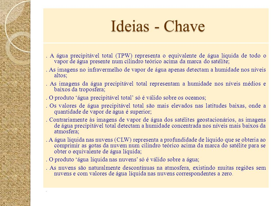 Ideias - Chave