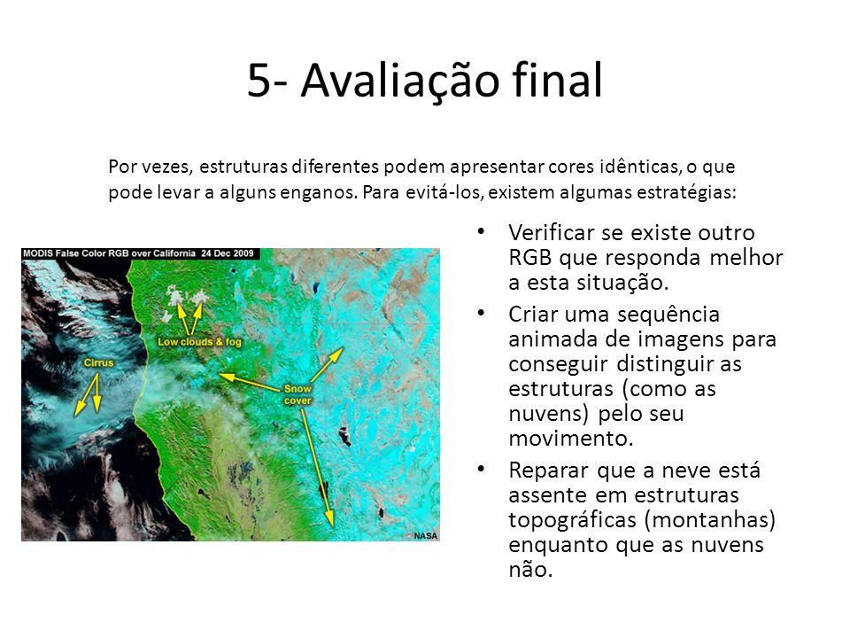 5- Avaliação final