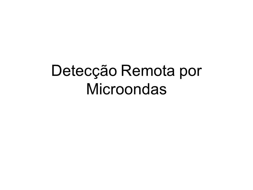 Detecção Remota por Microondas