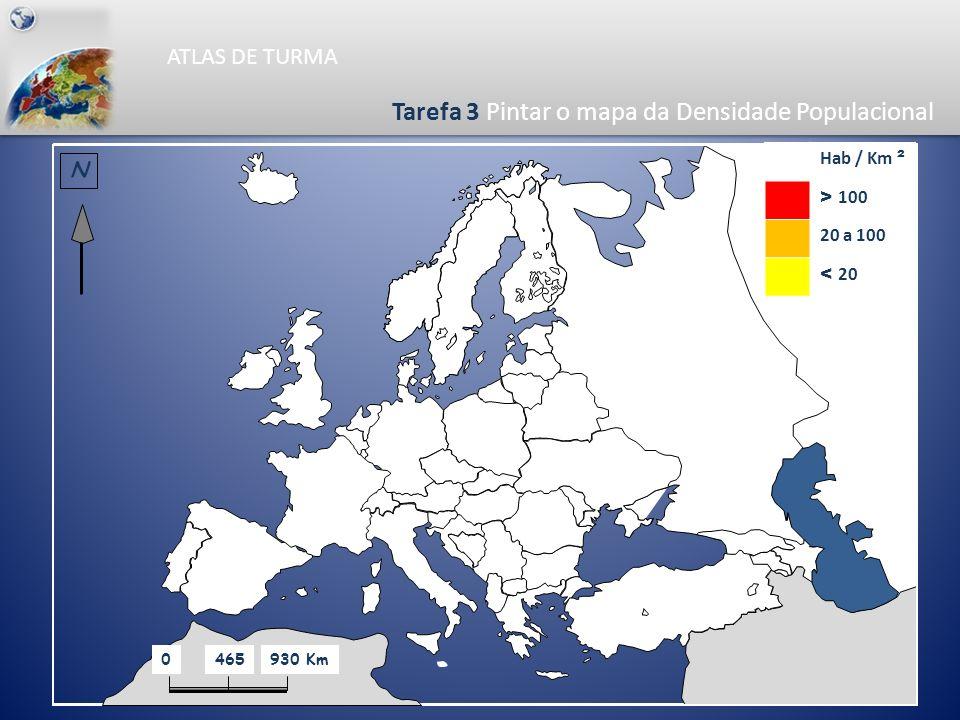 Tarefa 3 Pintar o mapa da Densidade Populacional