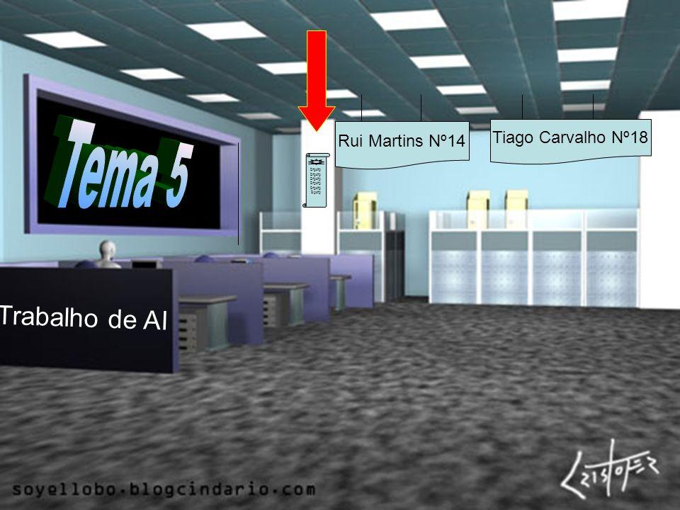Tema 5 Trabalho de AI Tiago Carvalho Nº18 Rui Martins Nº14 Dfgdfg
