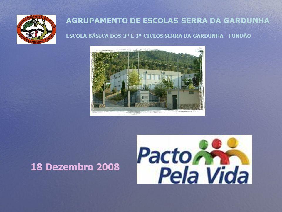 18 Dezembro 2008 AGRUPAMENTO DE ESCOLAS SERRA DA GARDUNHA
