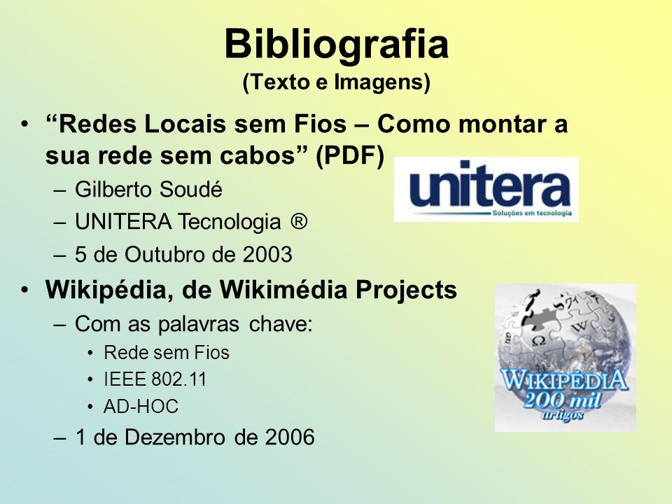 Bibliografia (Texto e Imagens)