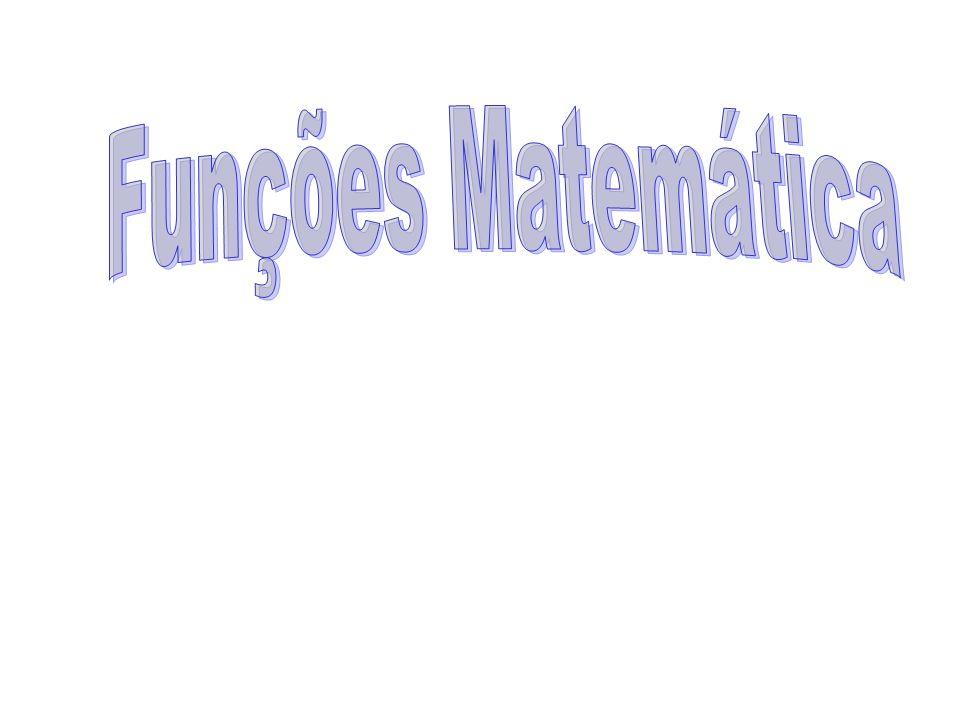 Funções Matemática
