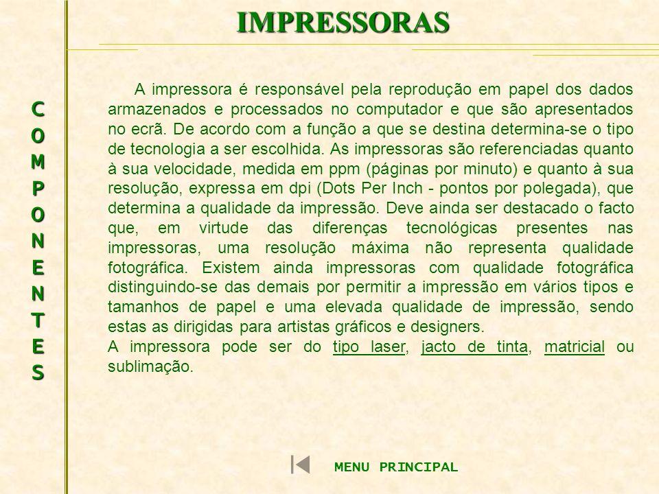 IMPRESSORAS COMPONENTES