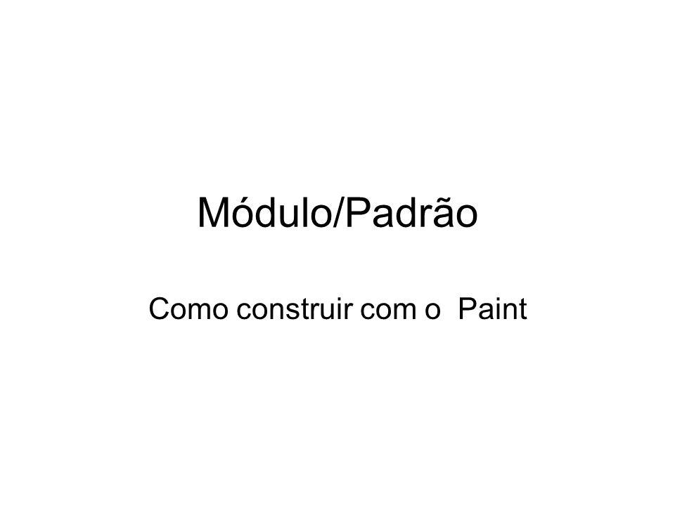 Como construir com o Paint