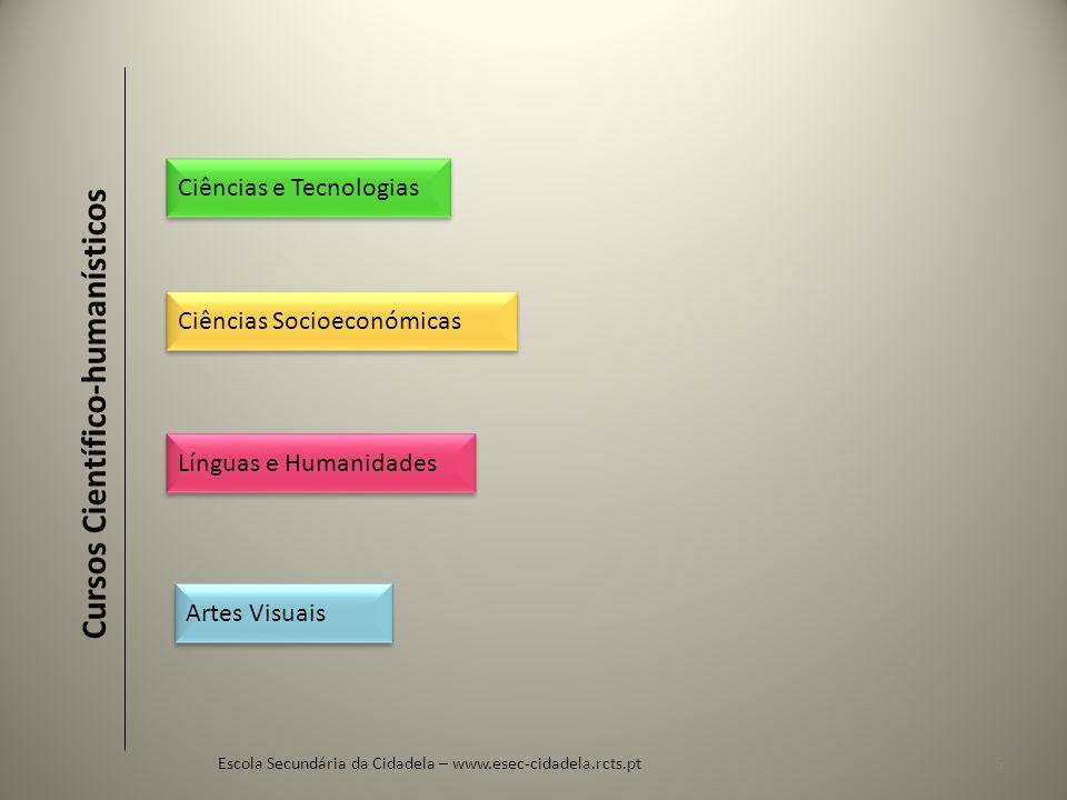Escola Secundária da Cidadela – www.esec-cidadela.rcts.pt