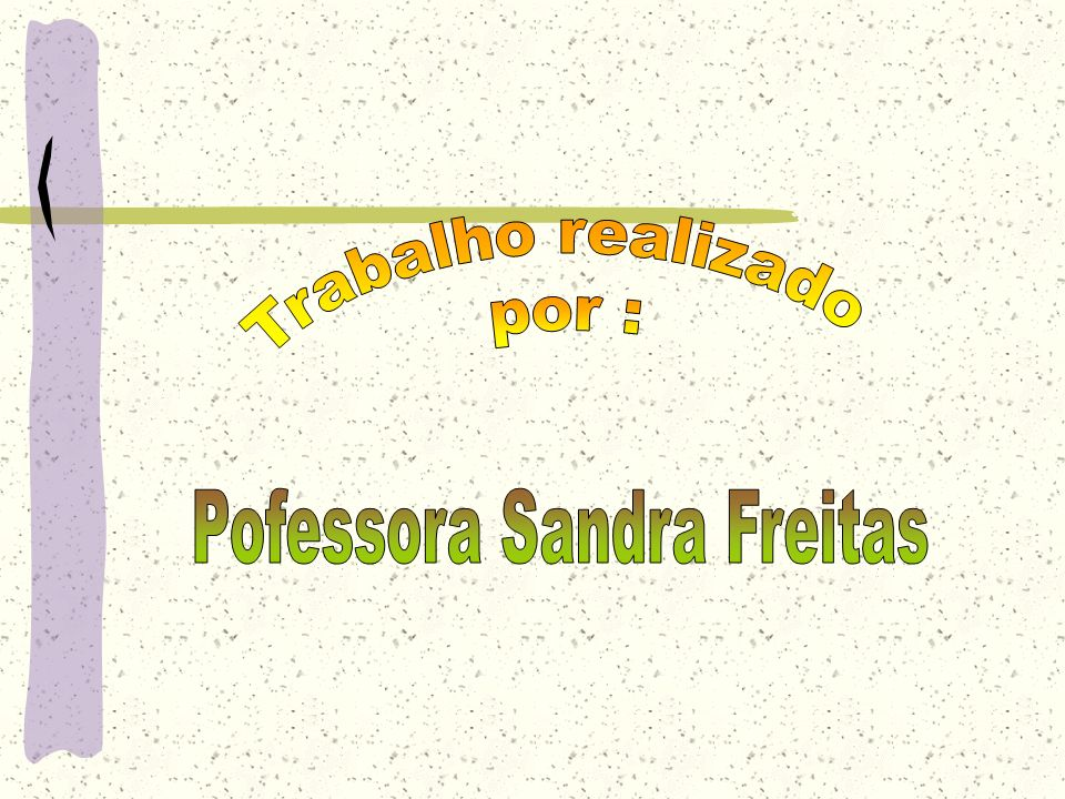Pofessora Sandra Freitas