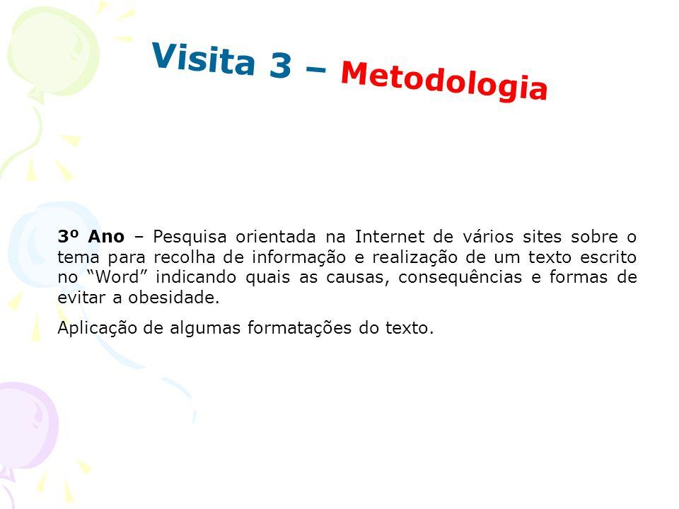 Visita 3 – Metodologia