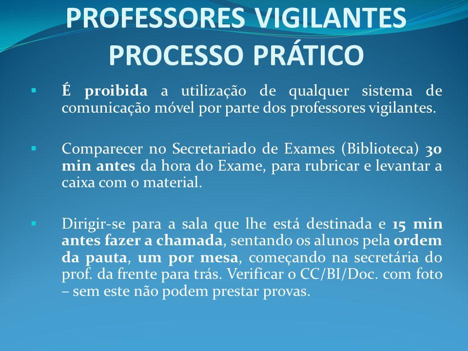 PROFESSORES VIGILANTES PROCESSO PRÁTICO