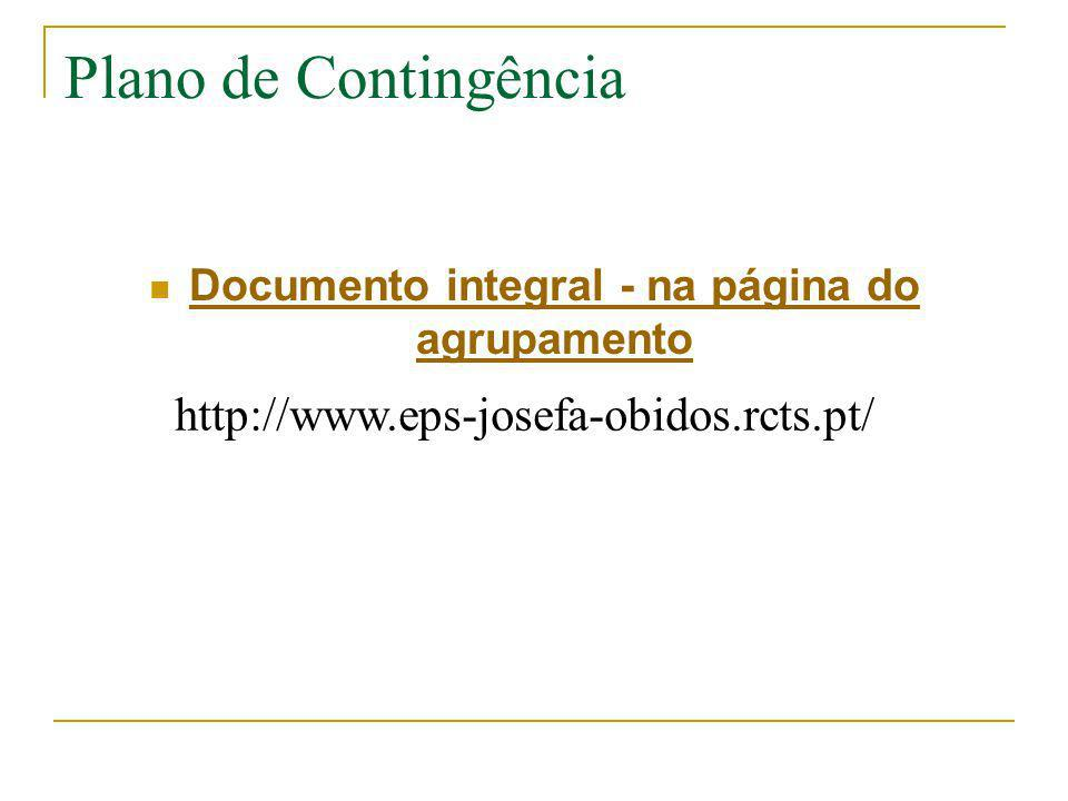 Documento integral - na página do agrupamento