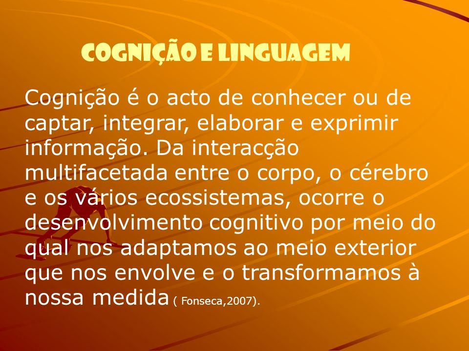 Cognição e linguagem