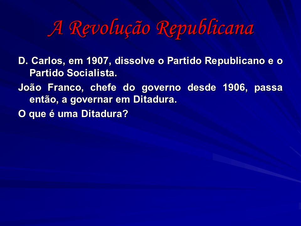 A Revolução Republicana