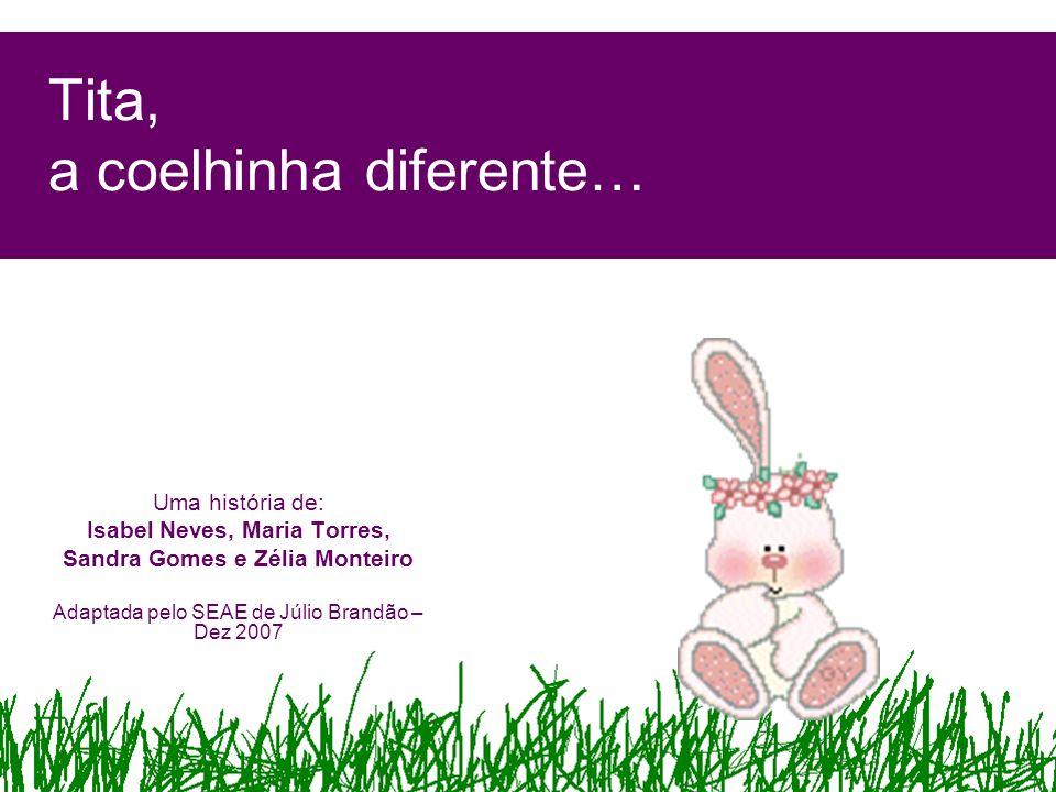 Tita, a coelhinha diferente…
