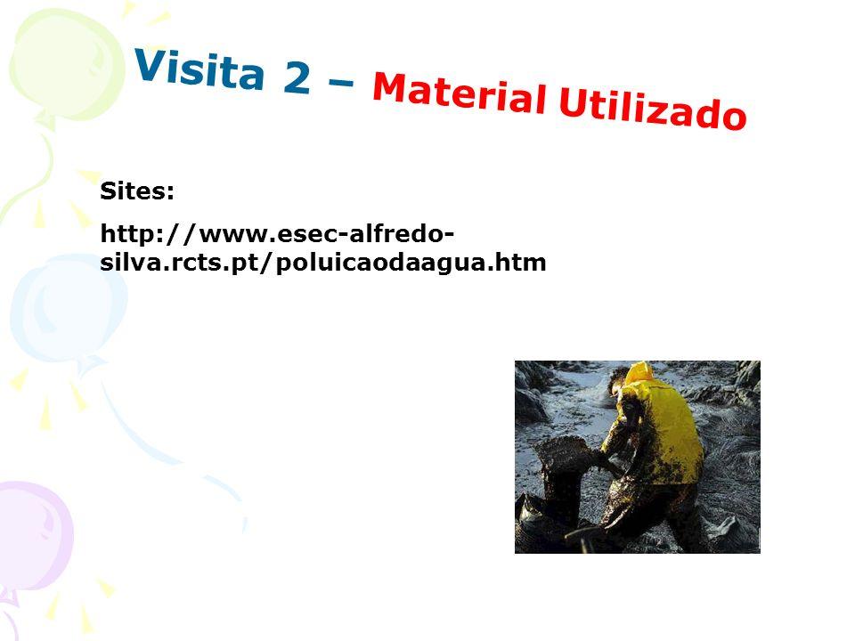 Visita 2 – Material Utilizado