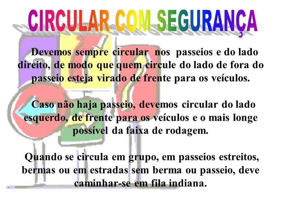 CIRCULAR COM SEGURANÇA