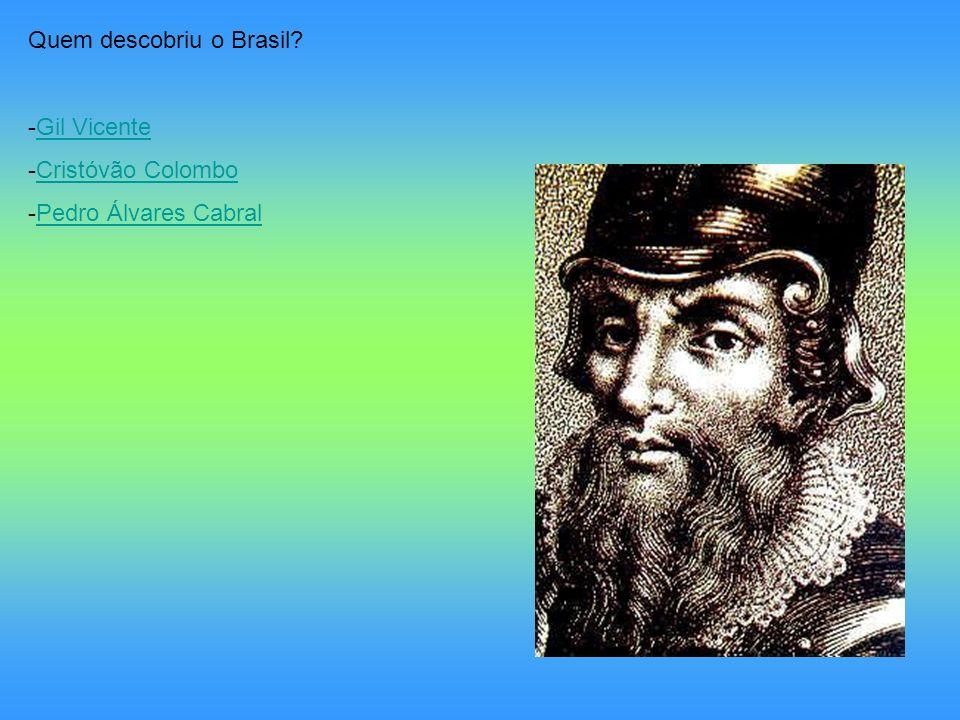 Quem descobriu o Brasil