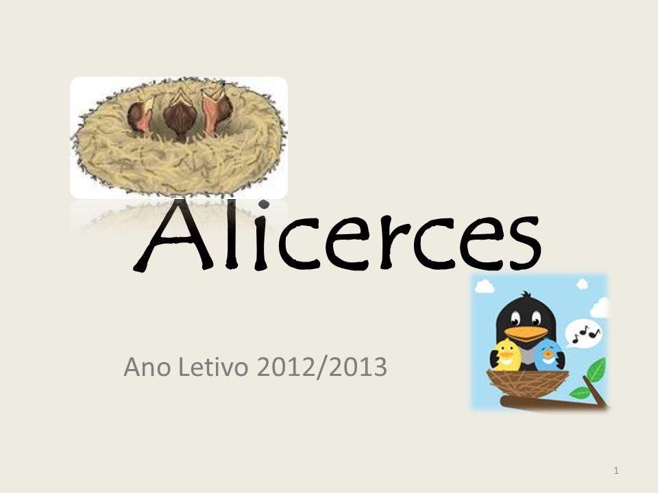 Alicerces Ano Letivo 2012/2013