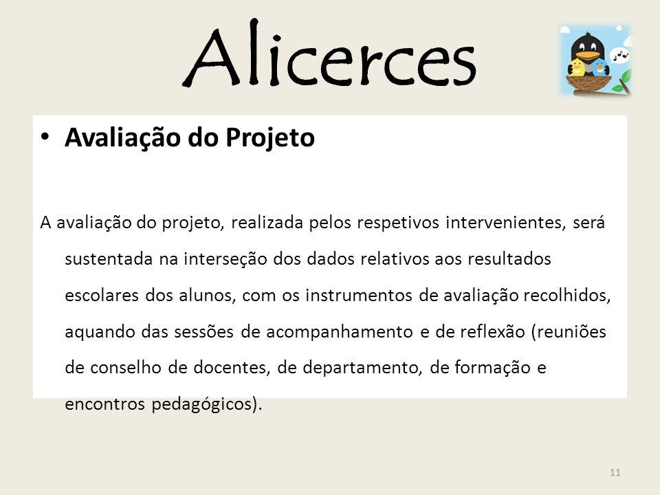 Alicerces Avaliação do Projeto