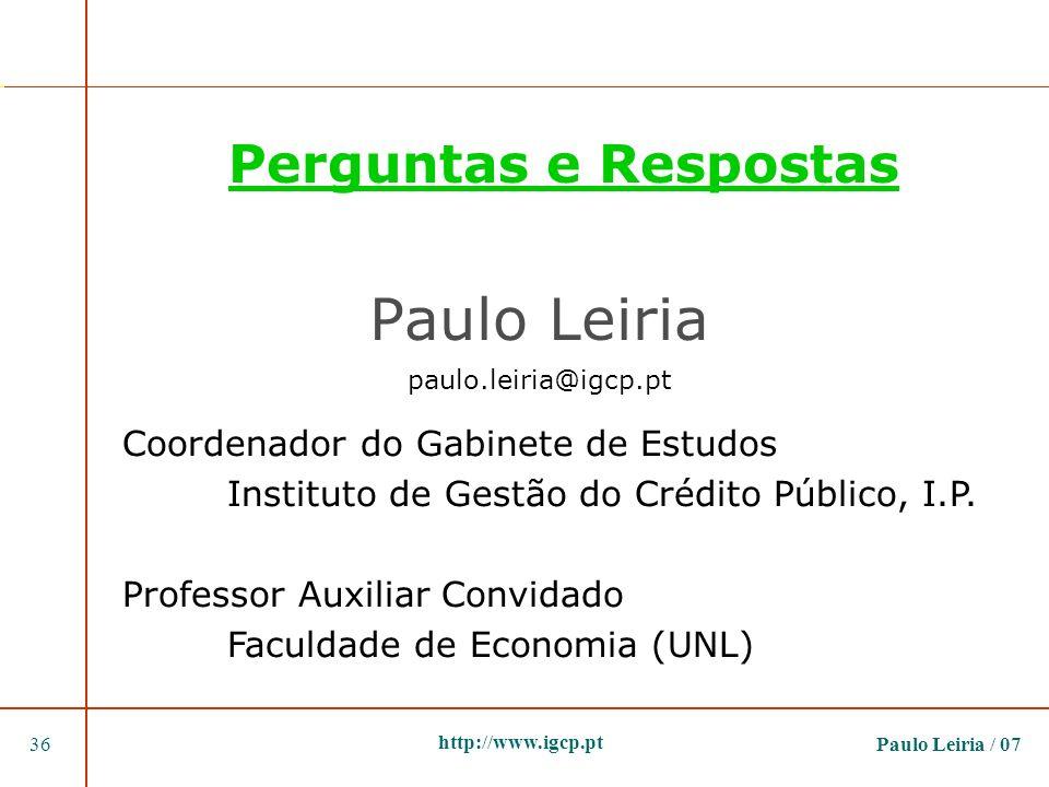 Paulo Leiria paulo.leiria@igcp.pt