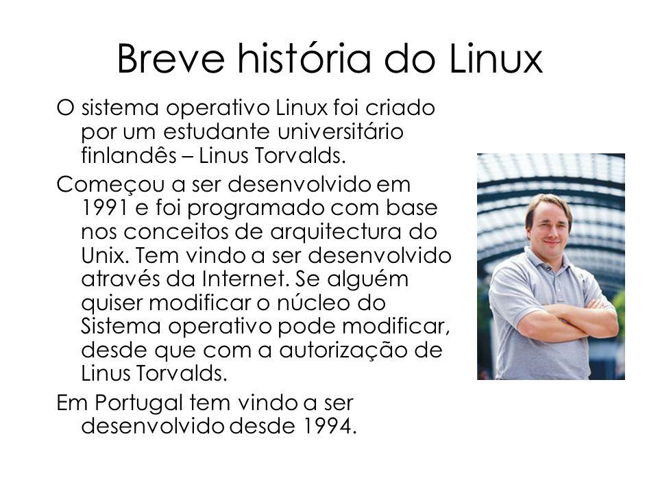 Breve história do Linux