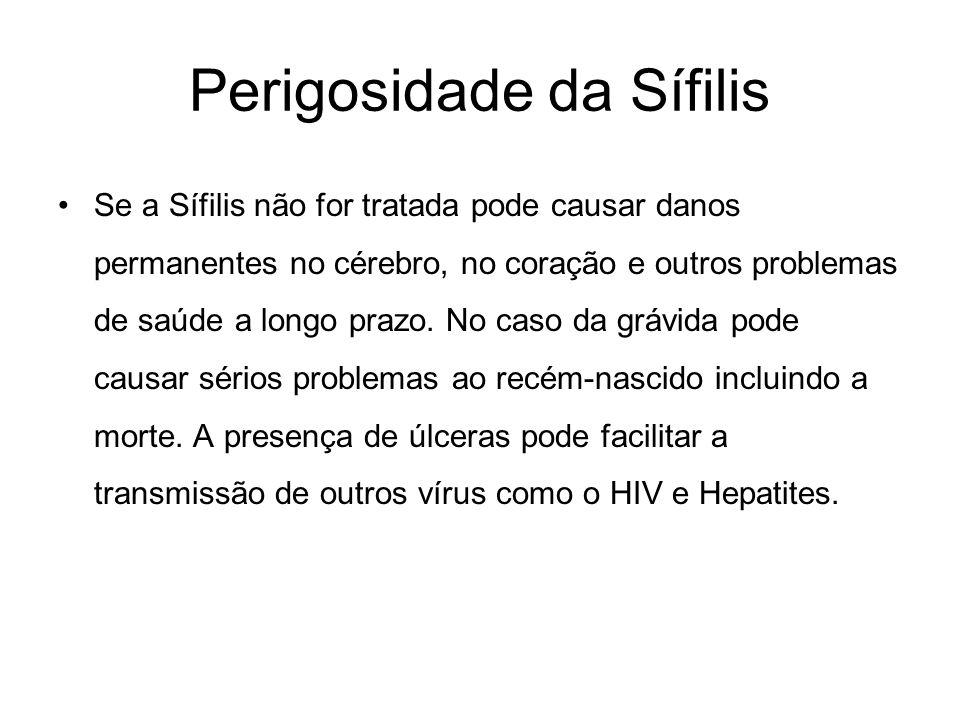 Perigosidade da Sífilis