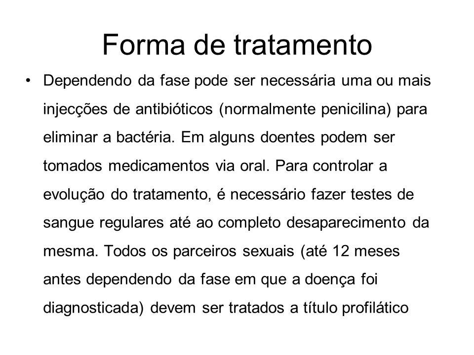 Forma de tratamento