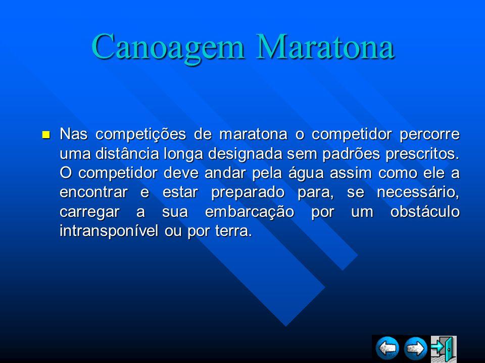 Canoagem Maratona