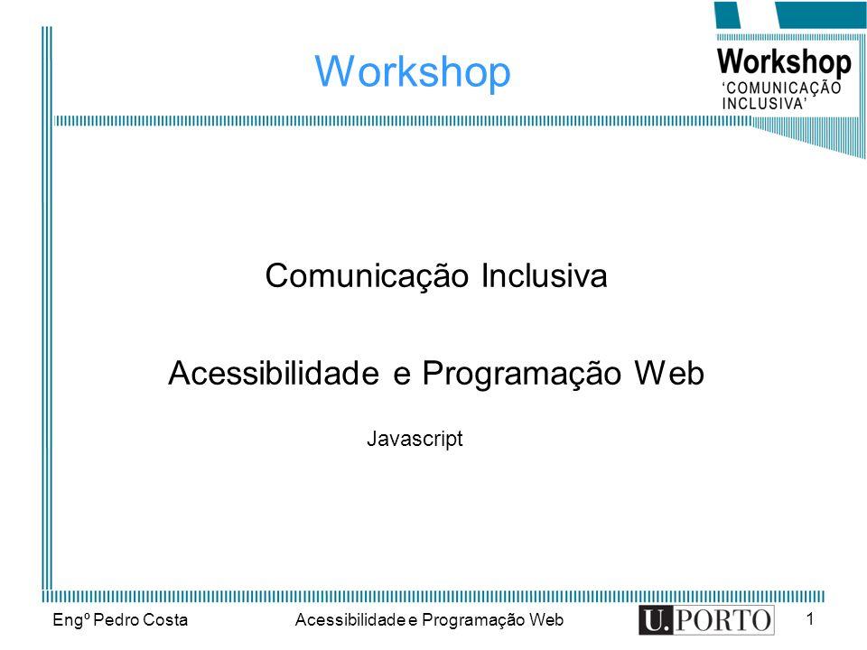 Comunicação Inclusiva Acessibilidade e Programação Web